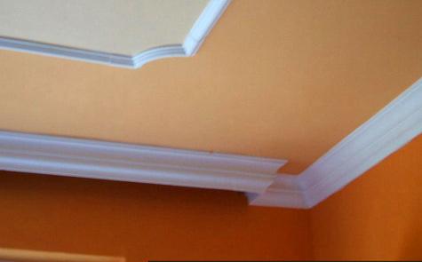 Cornici soffitti pannelli termoisolanti for Decorazioni in polistirolo per interni